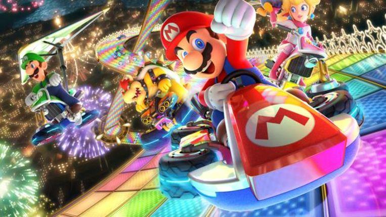 Mario Kart 8 Beeld Nintendo