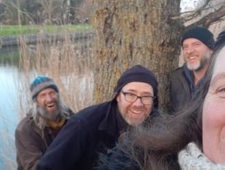 D'Ottertrotters zamelen al stappend geld in voor Daknamse Meersen