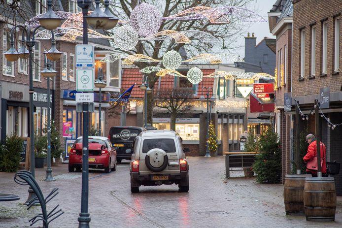 Met de bijdrage uit het coronafonds kunnen de dorpen in de gemeente Dalfsen onder meer de winkelstraten in kerststemming brengen.