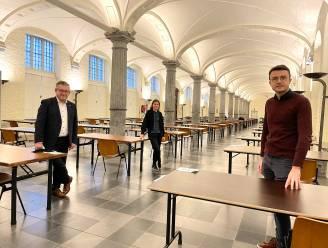 Samen studeren kan weer in 't Cachot of de Stadshallen