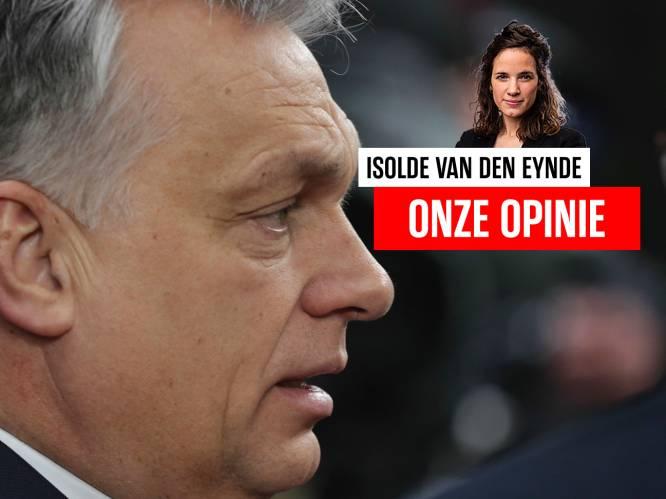 Onze opinie. Voorlopig kan de EU Victor Orbán niet raken waar het pijn doet: in de portemonnee
