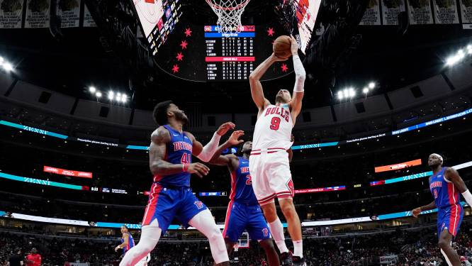 Sterke seizoensstart Chicago Bulls in NBA