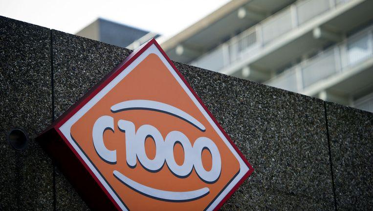 Het logo van een C1000 supermarkt. Beeld ANP