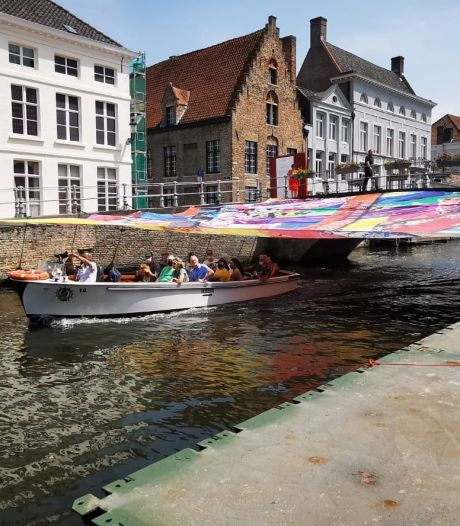 Triënnalekunstwerk 'Happy Coincidences' van Amanda Browder aan Verversdijk hersteld