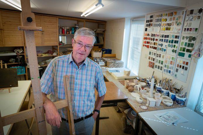 Ron van Hoeven bij De Wieken voorzitter bij creatief collectief /EH-dgfoto