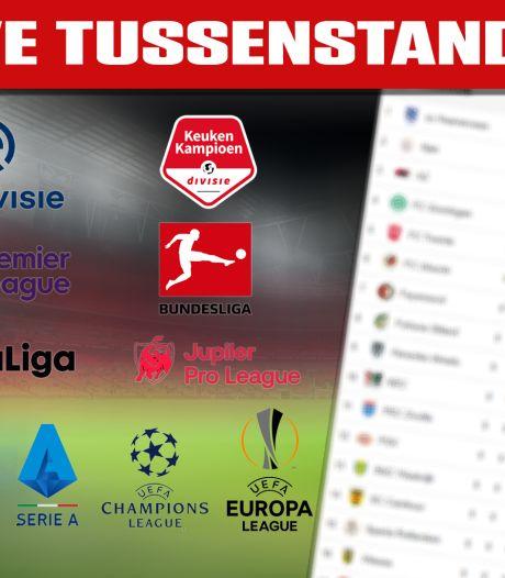 LIVE | Atalanta en Inter op voorsprong, uitslagen en tussenstanden in KNVB-beker