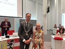 Talitha Schaddelee gekozen tot nieuwe kinderburgemeester van Gouda
