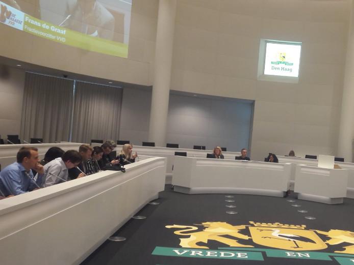 De commissie sprak vanavond over vuurwerkvrije zones tijdens de jaarwisseling.