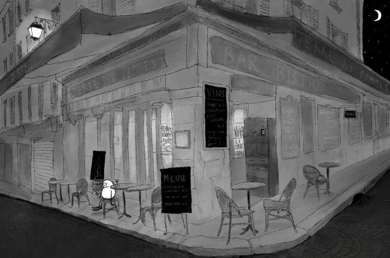 'Parisian Potato Blues II', door Thomas Beijer. Beeld Thomas Beijer