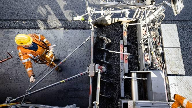 Windberg volledig afgesloten voor aanbrengen asfaltlaag