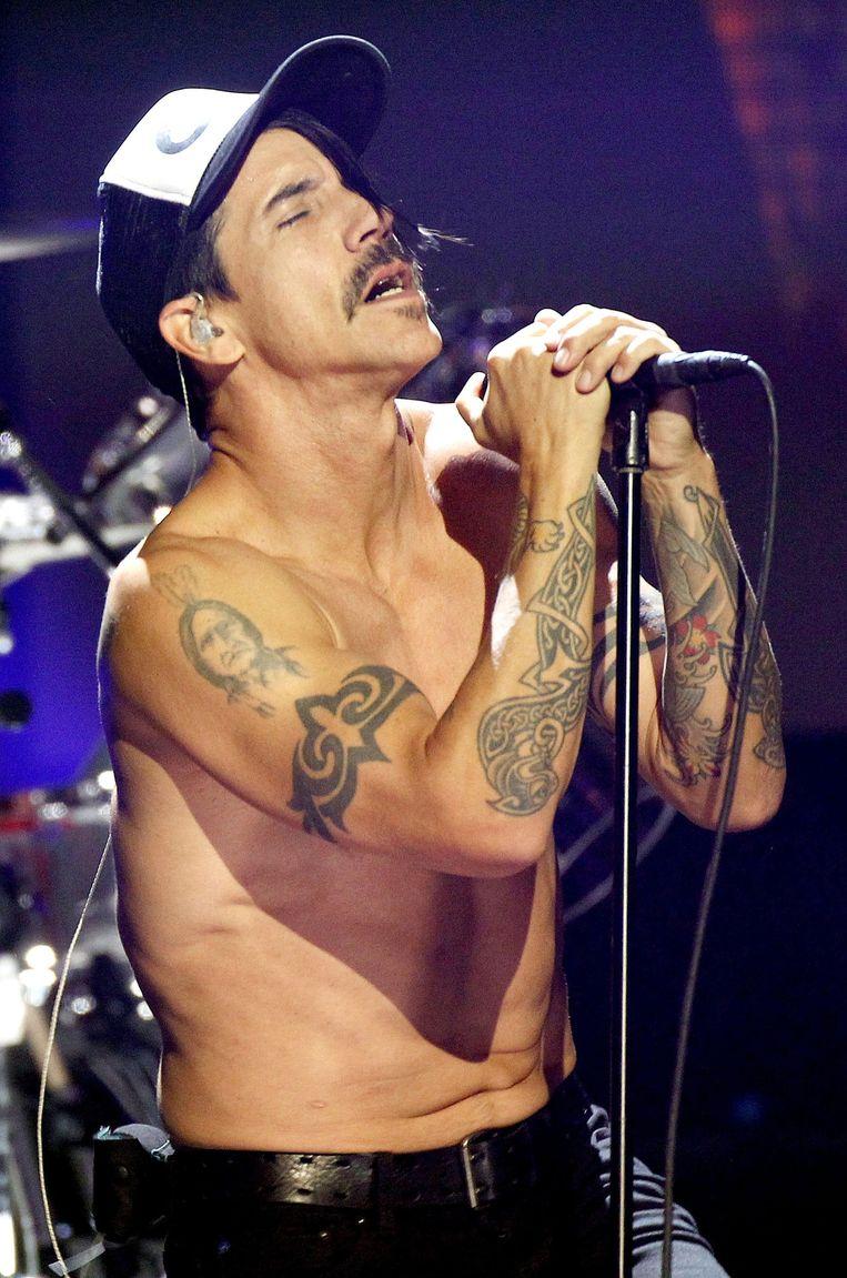 Zanger Anthony Kiedis. Beeld epa