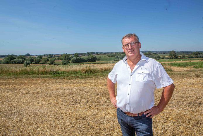 Dirk Willem (56), landbouwer en burgemeester van Bever.