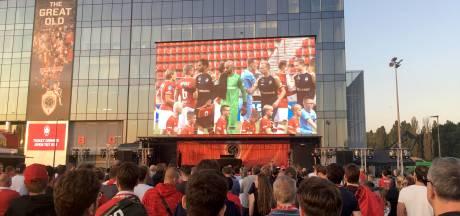 """5.000 supporters zien Antwerp gelijkspelen op groot scherm: """"Geweldig initiatief van de club"""""""