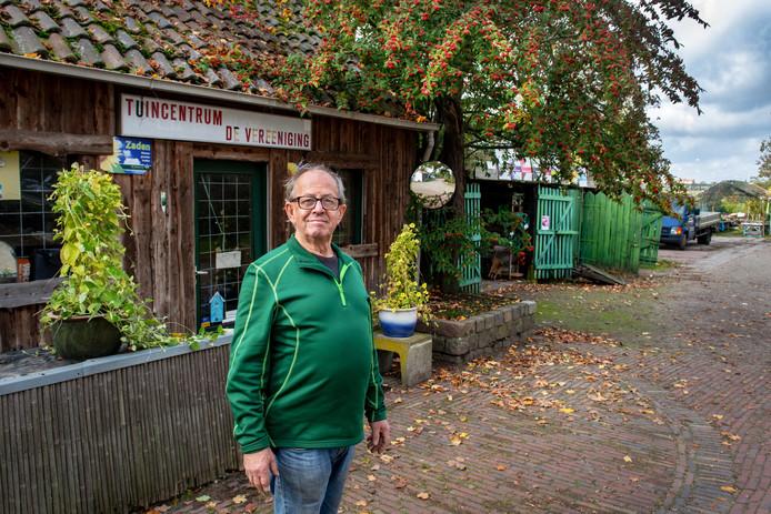 Roeland Ebben stopt na 54 jaar met zijn tuincentrum De Vereeniging.
