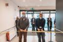 Nieuwe wachtpost aan het ziekenhuis in Pelt.