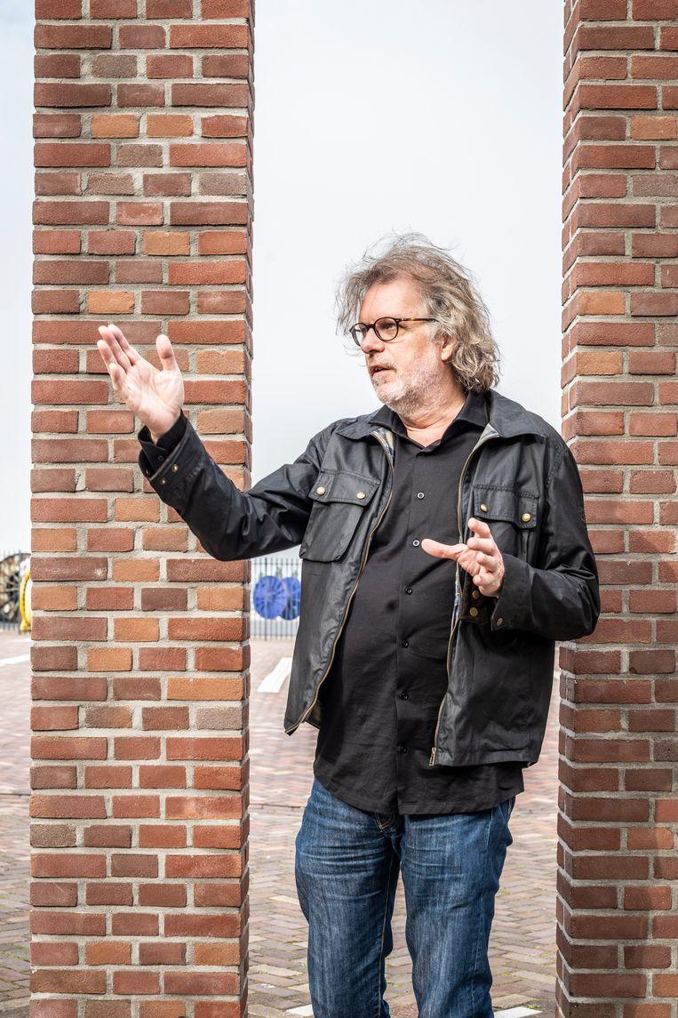 Peterjan van der Burgh vreest een tweedeling in de maatschappij.  Beeld Roos Pierson