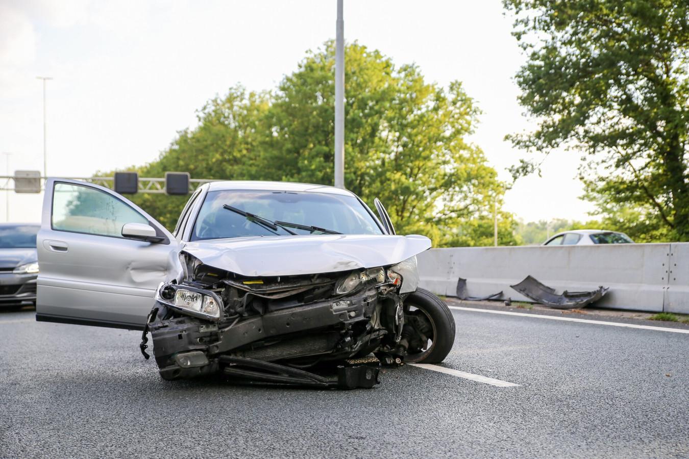 Ongeval op de A27 ter hoogte van Oosterhout