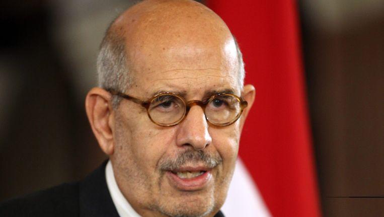Mohamed El-Baradei Beeld EPA