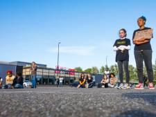 Evenemententerrein bij Silverdome vormde het decor van een sit-in