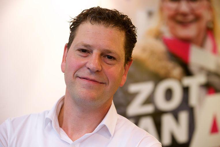 Antwerps sp.a-voorzitter Tom Meeuws. Beeld BELGA