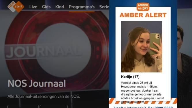 Amber Alert uitgegeven voor vermiste Karlijn (17), familie is dankbaar voor alle hulp
