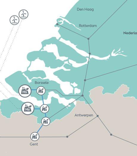 Gasunie en North Sea Port ontwikkelen Zeeuws transportnet voor waterstof