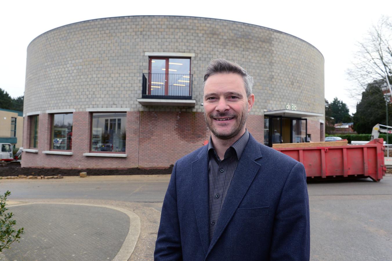 Davy Suffeleers realiseerde als schepen onder meer de nieuwe bibliotheek en feestzaal de voorbije legislatuur.