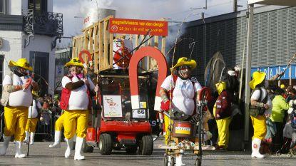 Eerste carnavalsdag lokt 90.000 bezoekers naar Aalst, meer dan 100 verzorgingen door Rode Kruis