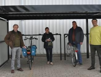 Nieuwe fietsenstalling aan de sporthal