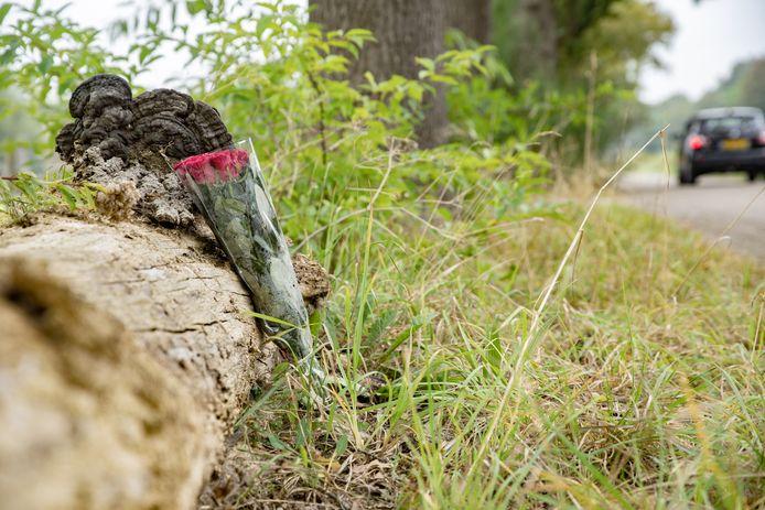 De eerste bloemen worden gelegd in Heeten.