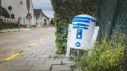 R2-D2 geland op Malem