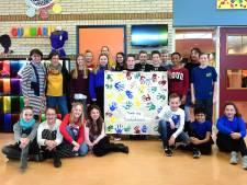 Zuid-Afrikaans bezoek op basisschool Gummarus Steenbergen