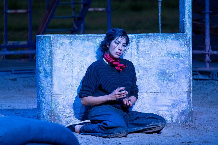 Itzel Medecigo in de rol van Carmen.  Beeld