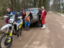 Crossers het haasje op Gorp en Roovert, weer vier illegale motorrijders gepakt