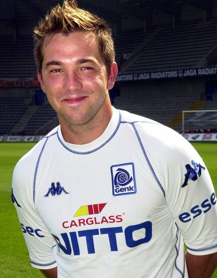 Theo Janssen in zijn periode bij Racing Genk.