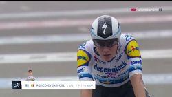 Zijn eerste krachttoer van het seizoen: ijzersterke Evenepoel wint tijdrit Ronde van San Juan en neemt ferme optie op eindzege