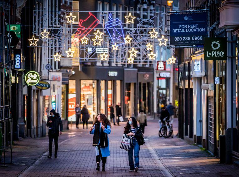 De Kalverstraat.  Beeld Hollandse Hoogte /  ANP