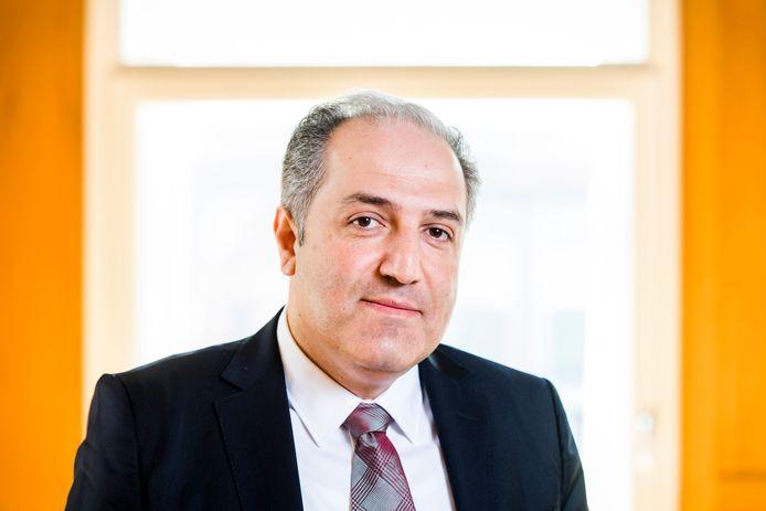 De Turkse campagneleider Mustafa Yeneroglu.