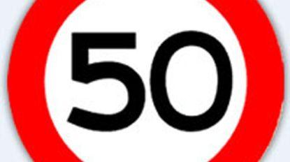 Nog slecht 50 kilometer per uur op traject Wakken-Oeselgem