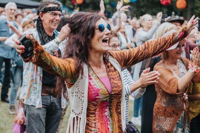 Enthousiast publiek tijdens de laatste editie van Blommenkinders in 2019.