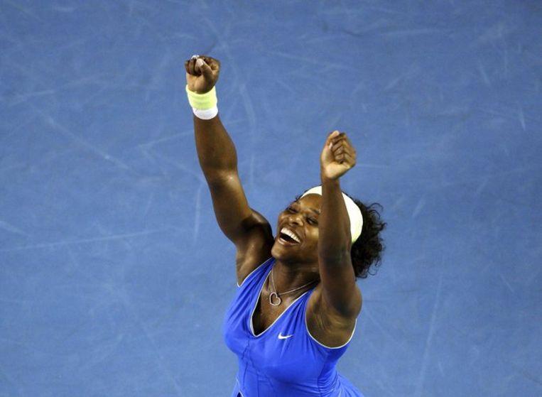De 27-jarige Serena Williams is terug als nummer één van de wereldranglijst. Foto EPA/How Hwee Young Beeld