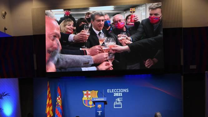 Laporta wint verkiezingen en keert terug als voorzitter van FC Barcelona