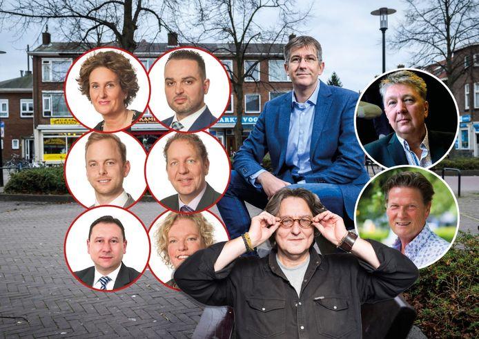 Kees Thies over de gebroken fractie van Beter Voor Dordt. Alleen fractievoorzitter David Schalken en wethouders Marco Stam en Piet Sleeking zijn nog actief voor de partij. Zes andere raadsleden hebben zich afgesplitst.
