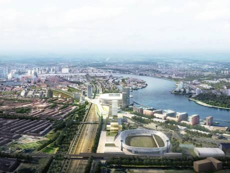 Feyenoord ziet wens vervuld: 25 miljoen euro vergoeding in nieuw stadion
