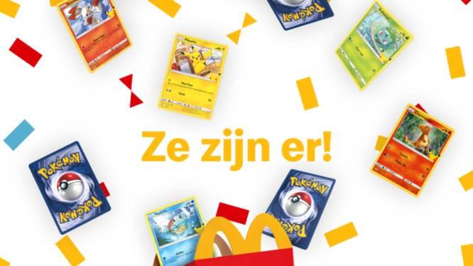 Ook McDonald's springt op Pokémon-hype