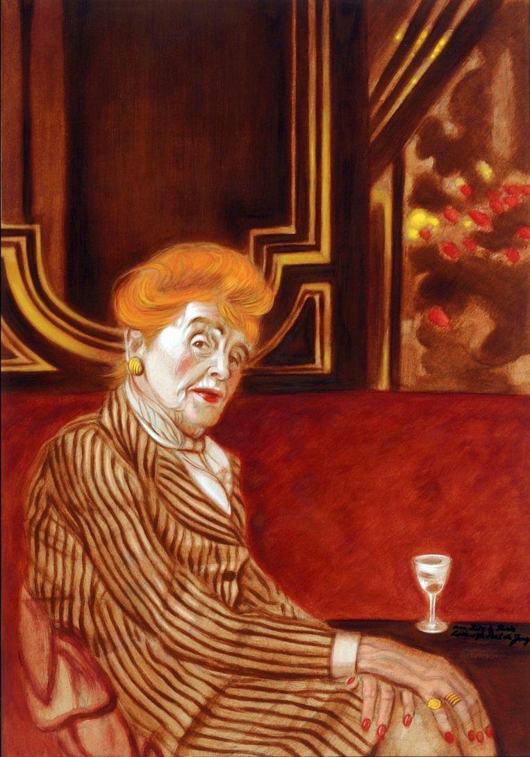 Antoinette de Bach-van Loon (1893-1981) scheidde al na een jaar van haar man, lang voordat dit geaccepteerd was. Beeld Museum Van Loon