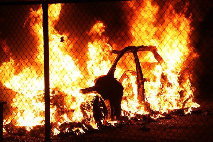 Elfde autobrand in Oss in korte tijd