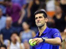 """Djokovic sur son immense défi à l'US Open: """"Tout faire pour rester dans le moment présent"""""""