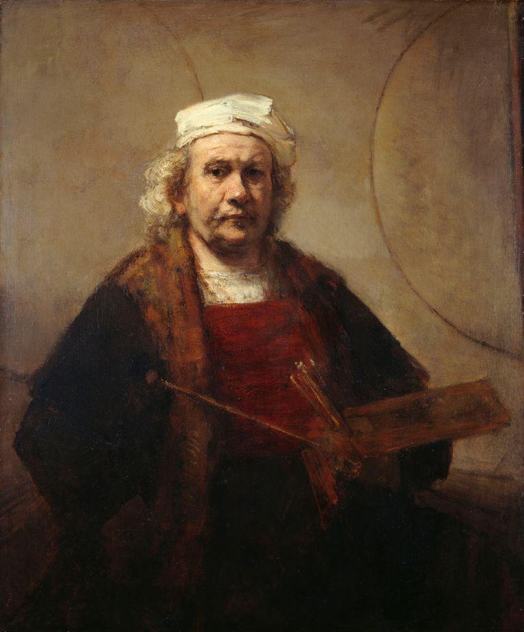 'Zelfportret', Rembrandt van Rijn (1606-1669). Beeld Collectie Museum Kenwood House Londen