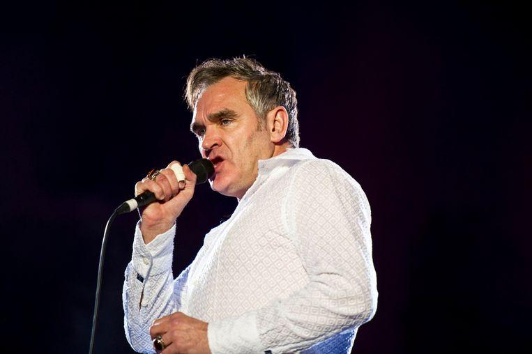 Morrissey op het Hop Farm Festival 2011. Beeld BELGAIMAGE